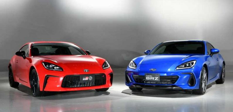 Here Are the Differences Between the 2022 Toyota GR 86 and New Subaru BRZ