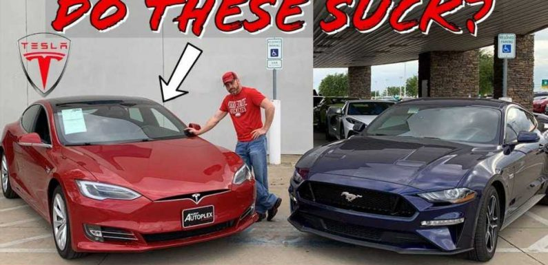 This Muscle Car Fanatic Reviews A Tesla Model S And Is Impressed