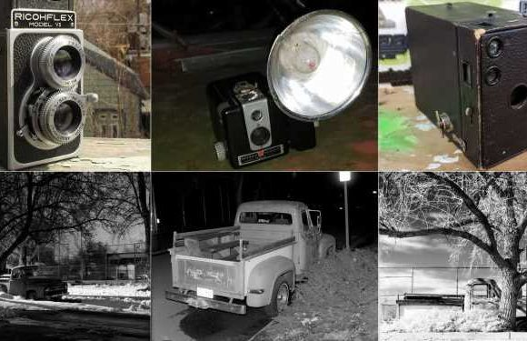 Street-Parked 1953 Ford F-100 Gets Yet More Old-Camera Love