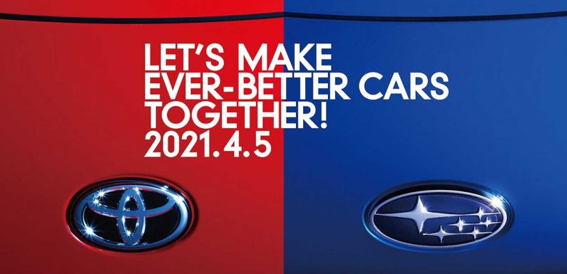 See Toyota Gazoo And Subaru Jointly Reveal A New Car During Livestream