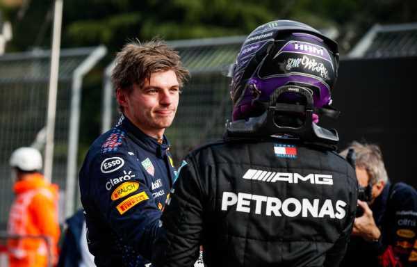 'Hamilton's mind games ricochet off Verstappen'