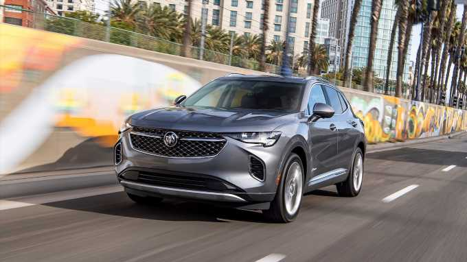 2022 Buick Envision Adds Small Updates to Sport Touring Pack