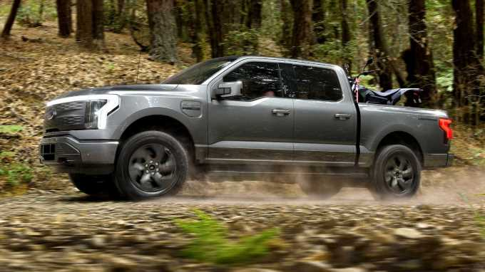 2022 Ford F-150 Lightning Electric Pickup: By the Numbers