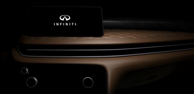 2022 Infiniti QX60 interior teased before June 23 debut – paultan.org