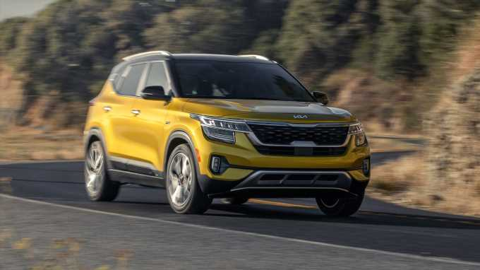 2022 Kia Seltos Adds Safety Features, New Trim and Badging