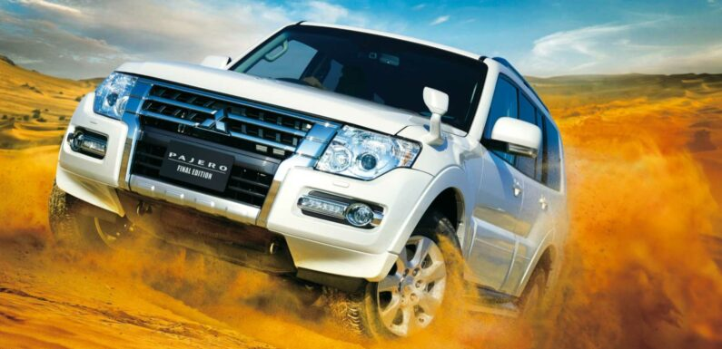 2022 Mitsubishi Pajero Final Edition Marks The End Of Production