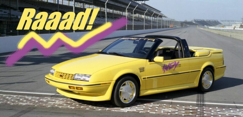 7 Indy 500 Pace Cars That Haven\u2019t Aged Well