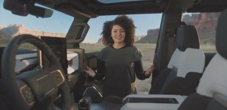 A Former Nike Designer Is the Mastermind Behind the New Hummer EV Interior