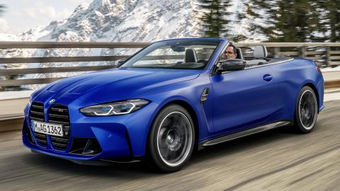BMW M4 Competition Convertible unveiled