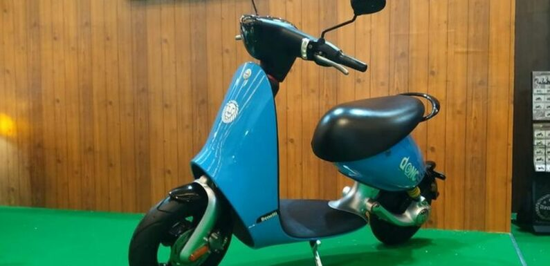 Benelli Dong electric scooter shown at IIMS Indonesia – paultan.org