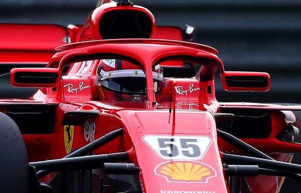 Carlos Sainz splitting Ferrari integration into three parts