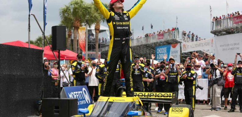 Colton Herta signs new Andretti IndyCar deal