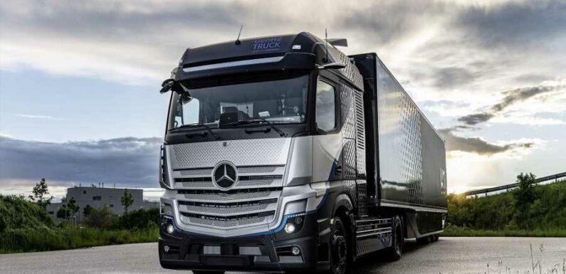 Daimler and Shell Team up on Hydrogen Trucks