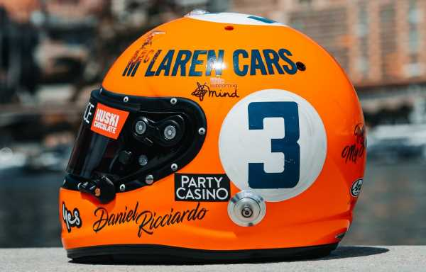 Drivers reveal special helmets for Monaco GP