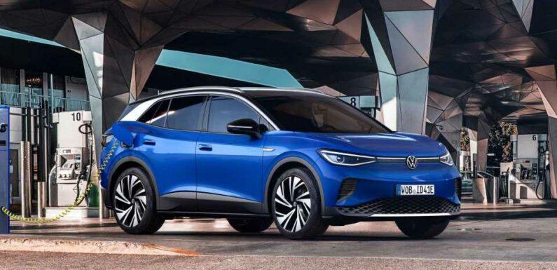 Europe: Volkswagen ID.4 Tops Plug-In Car Sales In April 2021