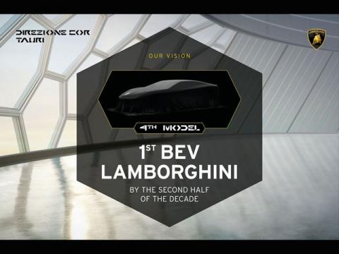 First fully-electric Lamborghini supercar to debut by 2030