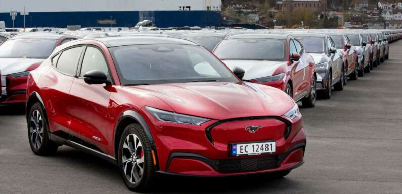 Ford Starts Mustang Mach-E Deliveries In Norway