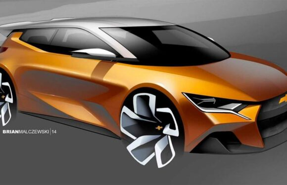 GM Design Imagines Small Chevy Hatchback In Latest Rendering