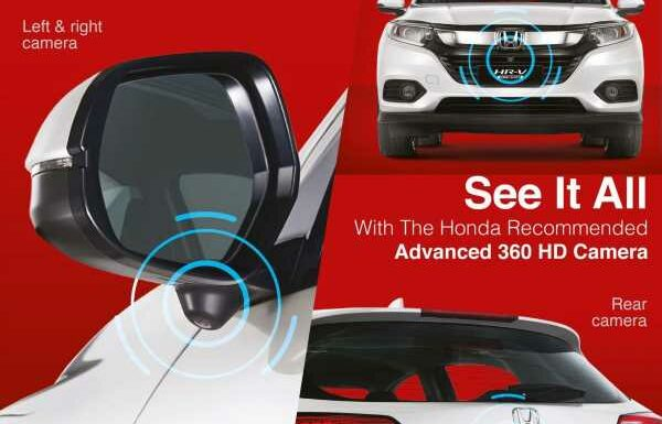 Honda Malaysia offering 360-degree parking camera as option for HR-V and BR-V – retrofit possible, RM3,300 – paultan.org