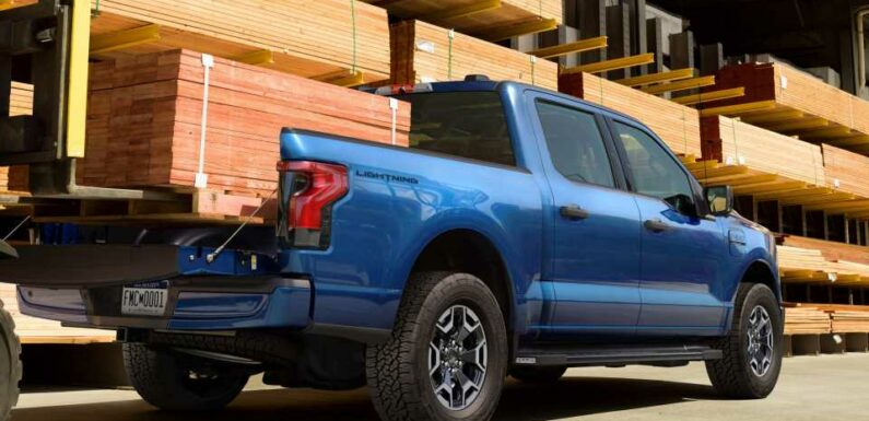 How Ford Built an Electric F-150 That Can Do Real Work for $40K