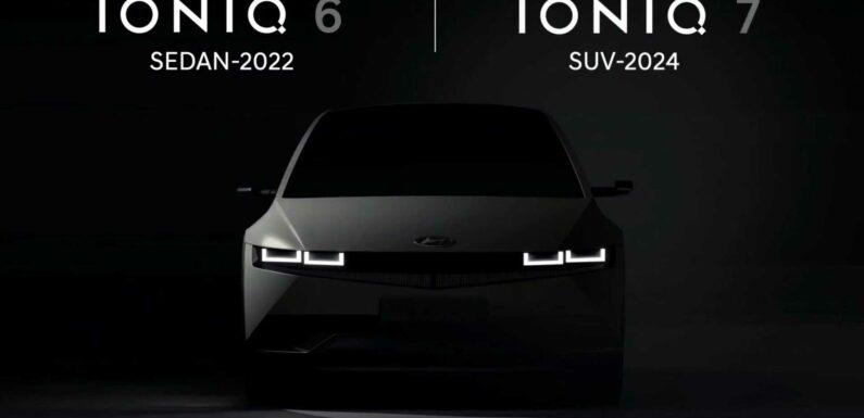 Hyundai Hints At Ioniq 6 Sedan And Ioniq 7 SUV
