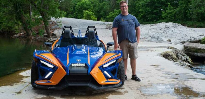 """I'm 6'5"""" and Driving a 2021 Polaris Slingshot for Two Weeks. What Do You Want to Know?"""
