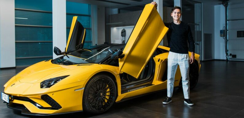 Juventus star striker Paulo Dybala buys a Lamborghini Aventador S Roadster to celebrate his 100th club goal – paultan.org