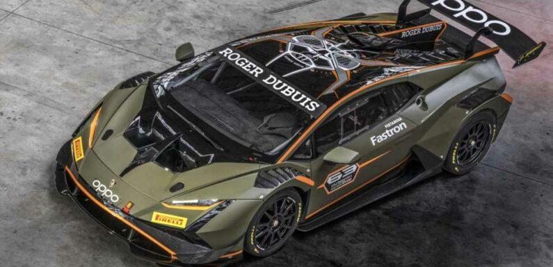 Lamborghini Huracan Super Trofeo EVO2 Unveiled With Wild Aero