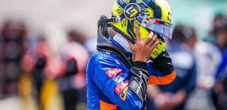 Lando Norris' confidence improving in 'tricky' McLaren car