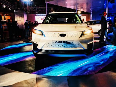 Mahindra to support Ssangyong develop EVs based on MESMA 350
