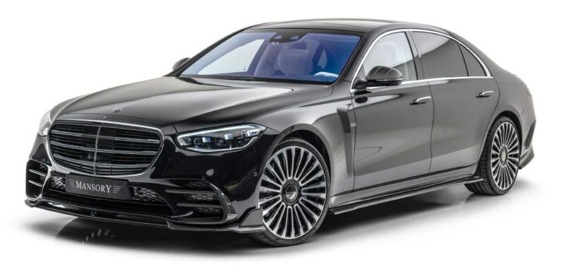 Mansory Does Its Thing To Create Stealthy New Mercedes S-Class
