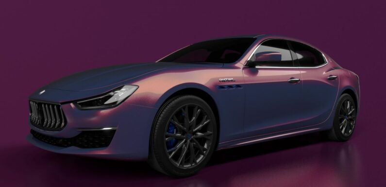 Maserati Ghibli Hybrid Love Audacious, a China-only limited edition with William Chan's CANOTWAIT_ – paultan.org