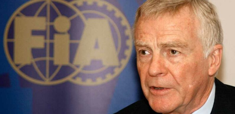 Max Mosley, Former FIA President, Dead at 81
