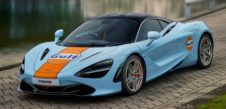 McLaren 720S gets Gulf livery to celebrate partnership – paultan.org
