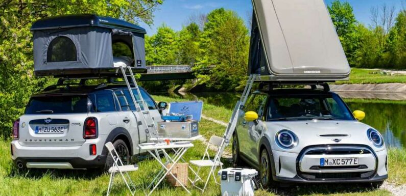 Mini Offers Rooftop Tents For Cooper SE, Countryman All4 Hybrid