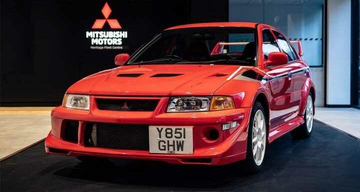 Mitsubishi UK Evo VI TME sells for \u0001£100k