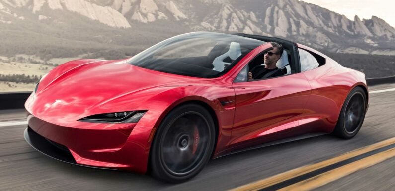 Musk Claims Tesla Roadster SpaceX Will Do 0-60 MPH In 1.1 Seconds