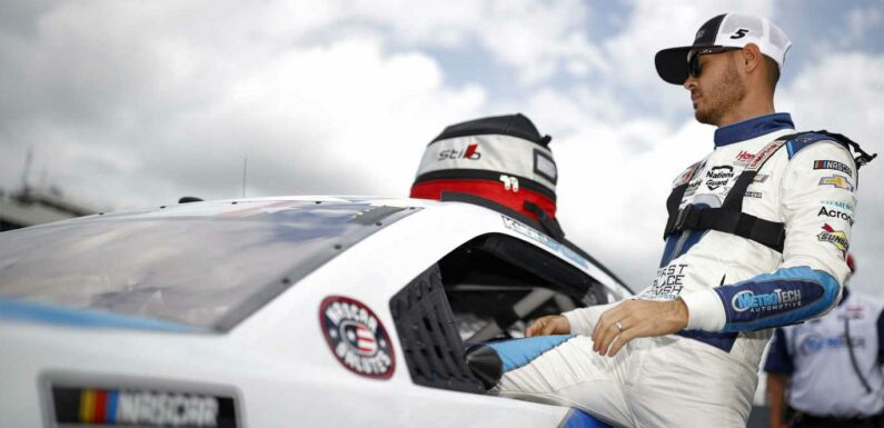 NASCAR takes to the track at Charlotte Motor Speedway