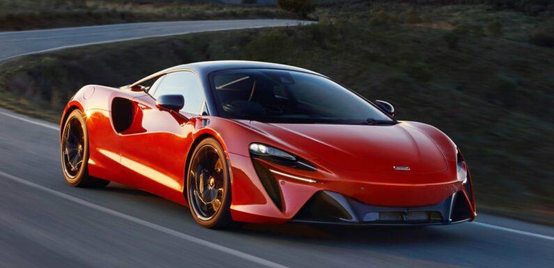 New 2021 McLaren Artura supercar gets plug-in hybrid V6 power
