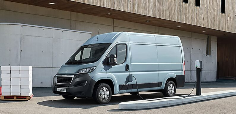 New 2021 Peugeot e-Boxer electric van on sale from £49,335