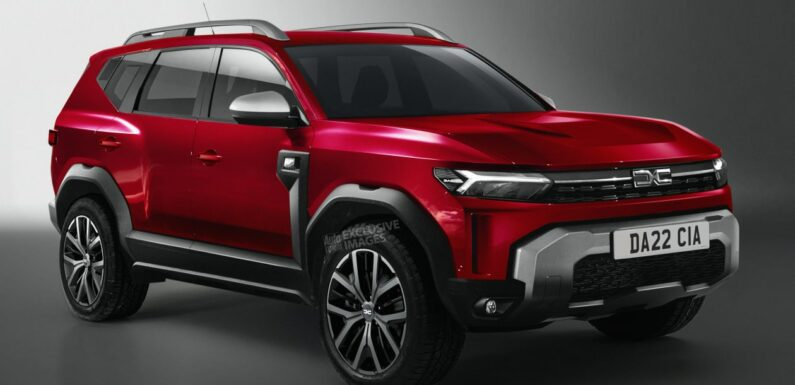 New 2022 Dacia Bigster to move budget brand into large SUV market