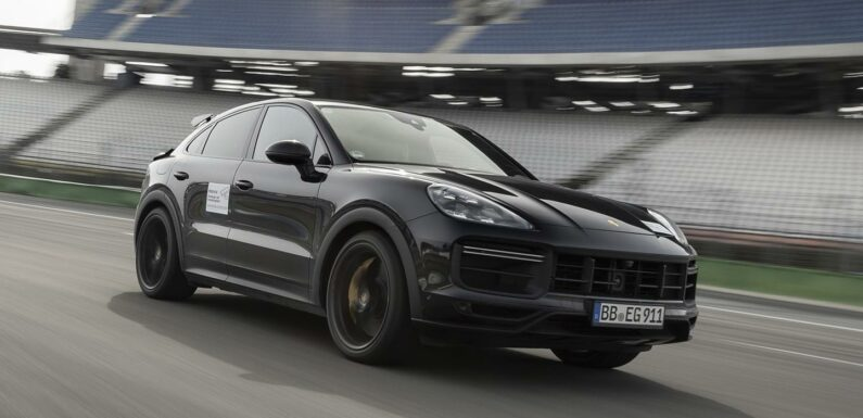 New Cayenne Turbo Coupe targets RS Q8