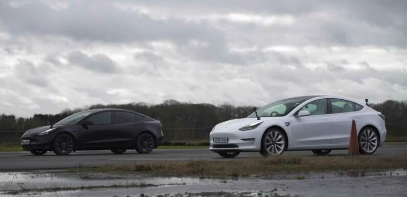 New Tesla Model 3 Performance Drag Races Its Gen-1 Counterpart