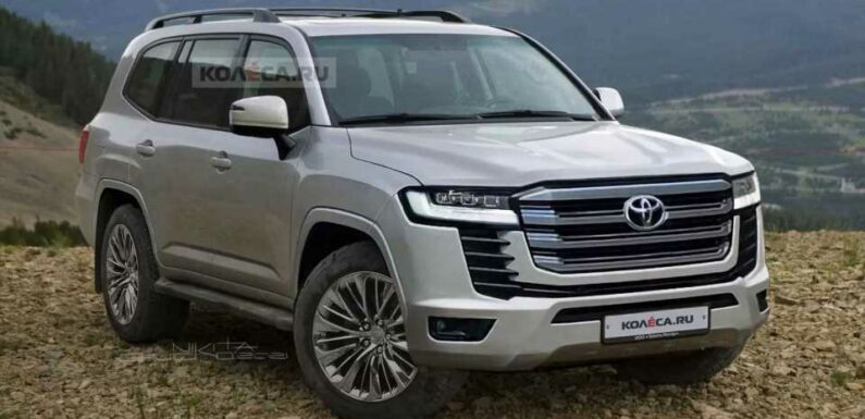 Next-Gen Toyota Land Cruiser Takes Shape In Unofficial Renderings