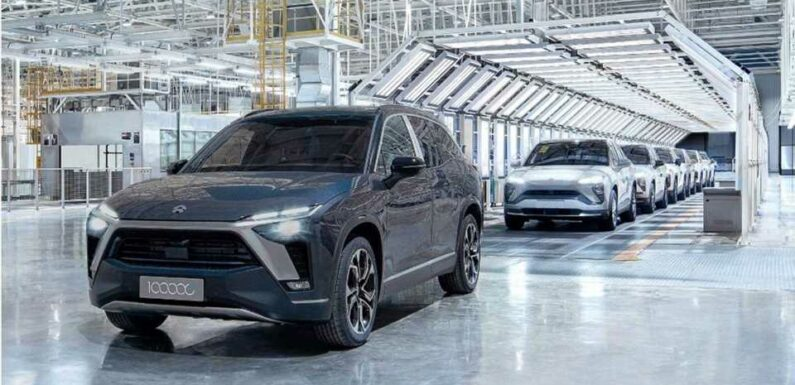 Nio Doubles Production Outsourcing From JAC: 240,000 Cars/Year