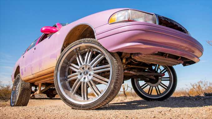Roadkill Takes the Bubblicious Chevy Caprice Off-Road!