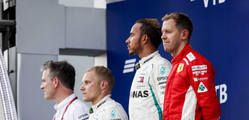 Sebastian Vettel: I won't give Verstappen advice, Lewis beat me!