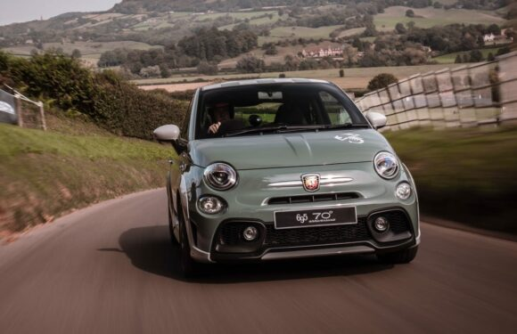 Shelsley Walsh Hill Climb in an Abarth 695 70th Anniversario
