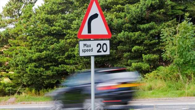 Speeding is as bad as carrying a knife, says top cop