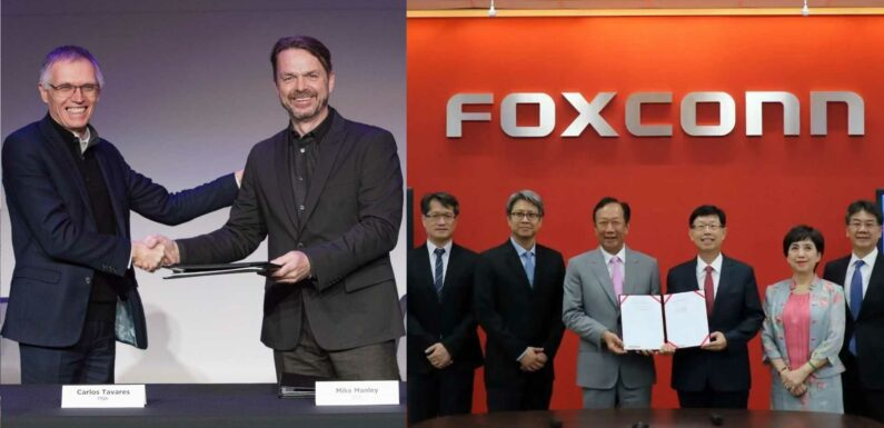 Stellantis And Foxconn Will Announce A Partnership On May 18